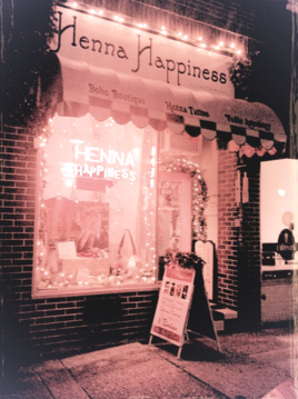 henna happiness new-age  store location